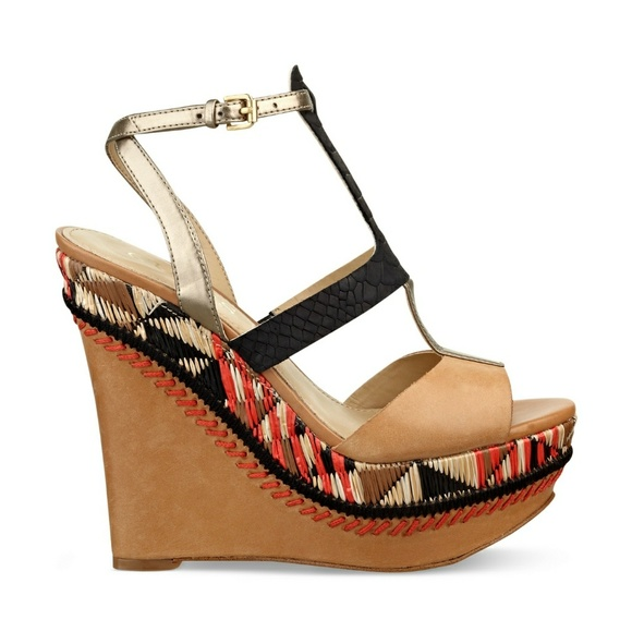 926db8f554ff Guess Shoes - Guess Diastol platform Wedge Sandals